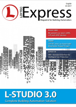L Express 01 2017 Magazine for Building Automation LOYTEC